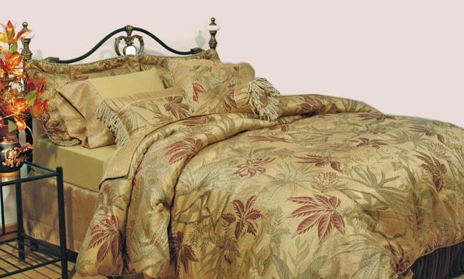 Tahiti Jacquard 4-piece Comforter Set