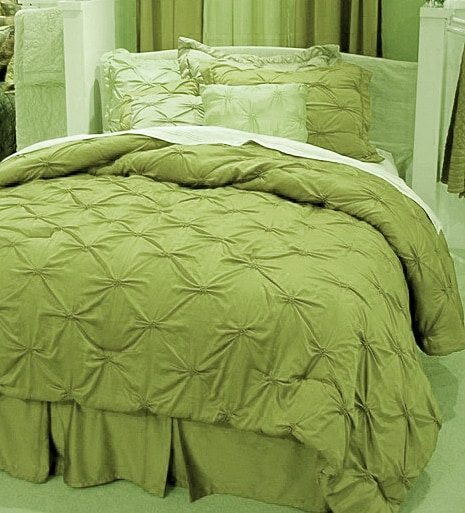 Desiree Soft Green Comforter Set