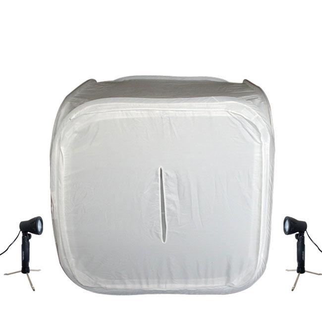 HiRO 32-inch Portable Photo Studio & 2 50W Lights