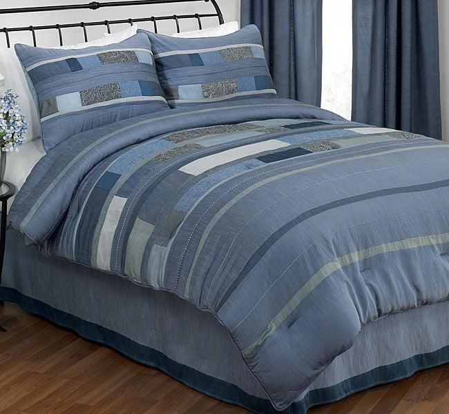 Icy Blue Comforter Set