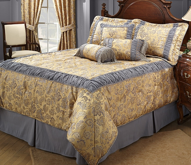 Waldorf Naples Luxury Comforter Set (King)