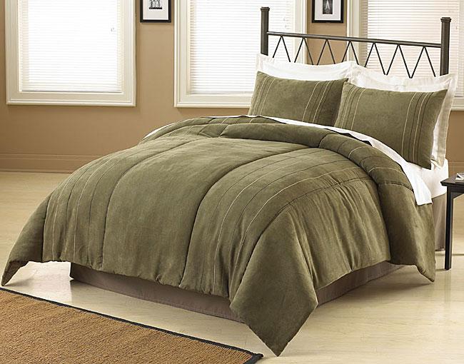 Rejuvenate Microsuede Comforter Set
