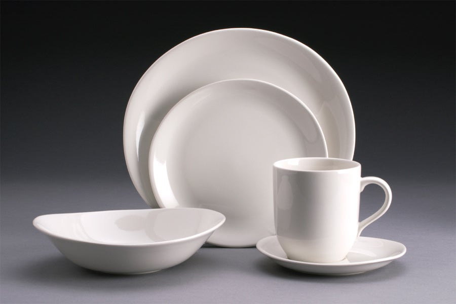 studio nova domani white 20 piece dinnerware set free shipping today