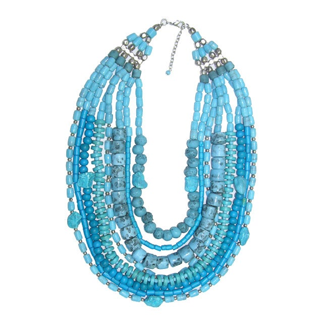 bea2a0f0f5c771 Shop Turquoise Colored Passion Necklace (India) - Free Shipping On ...