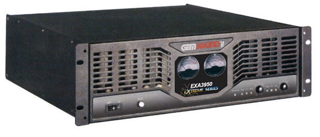 Gem Sound EXA-3950  Stereo Power Amplifier - Thumbnail 0