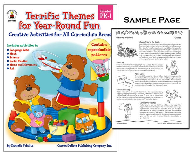 Interactive Theme Book (Pre-K to Grade 1)