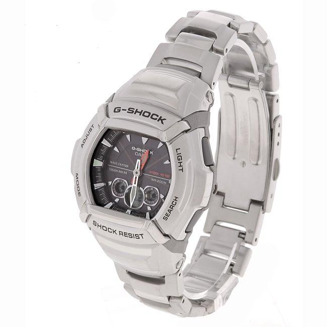 ea8936cd0 Shop Casio G Shock Men's Steel Quartz Watch - Free Shipping Today -  Overstock - 2090679
