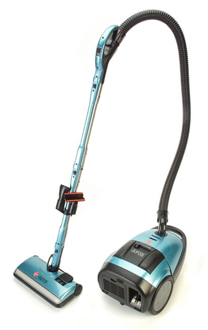 Hoover Duros Power Nozzle Canister Vacuum Free Shipping