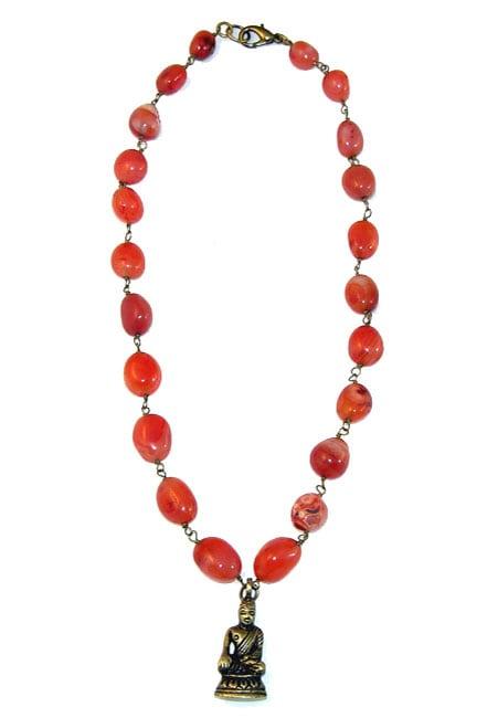 Inner Peace Buddha Necklace (India)