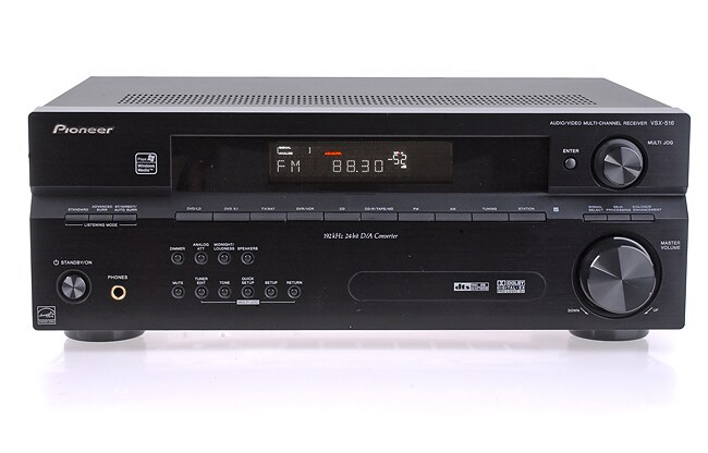 Pioneer VSX-516-K Home Theater Receiver (Refurbished)