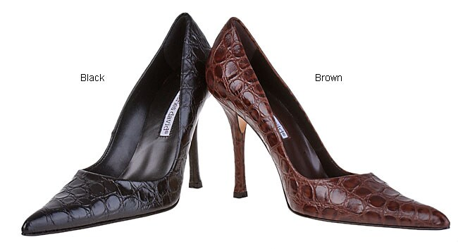 Charles David Women's Croc Heel