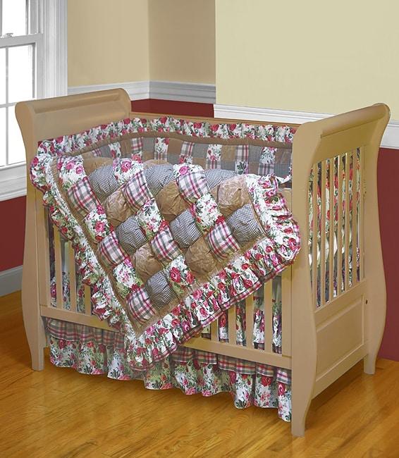 Sophia Cotton Patchwork Crib Set