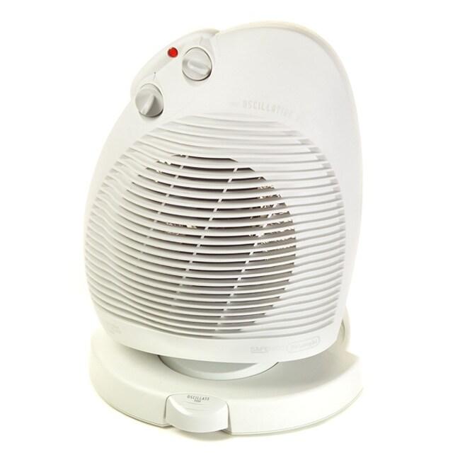 Shop Delonghi Oscillating Fan Heater Refurbished Free