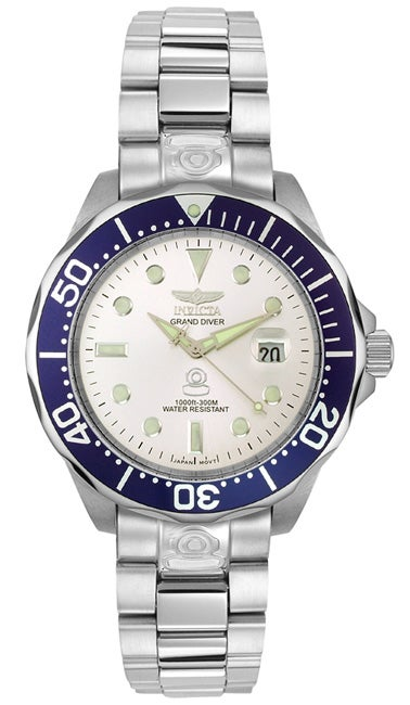 332c5342d1d Shop Invicta Grand Diver Men s Automatic Watch - Free Shipping Today -  Overstock - 2117012