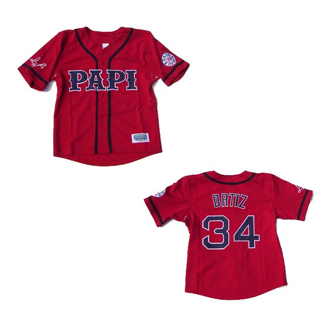 David Ortiz Red 'Papi' Jersey