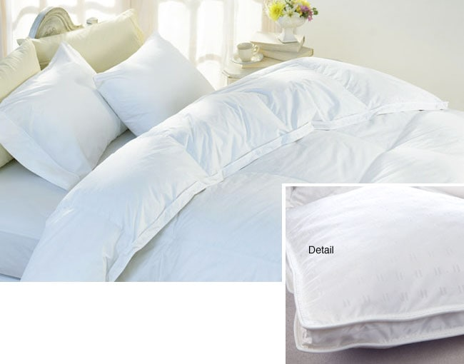 400 thread count lyocell high loft goose down comforter for High thread count bed sheets
