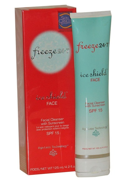 Freeze 24/7 Ice Shield Facial Cleanser with SPF 15
