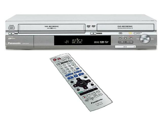 Panasonic DMR-ES40VS VCR/DVD Burner (Refurbished)