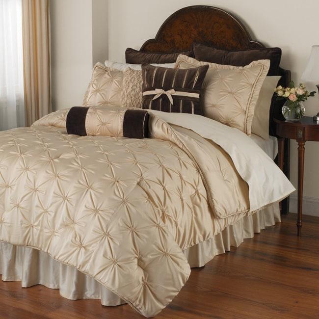 Bella Donna Embellished Comforter Set (Cal King)