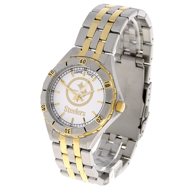 release date 2ca5c a18f9 Pittsburgh Steelers NFL Men's GM Watch