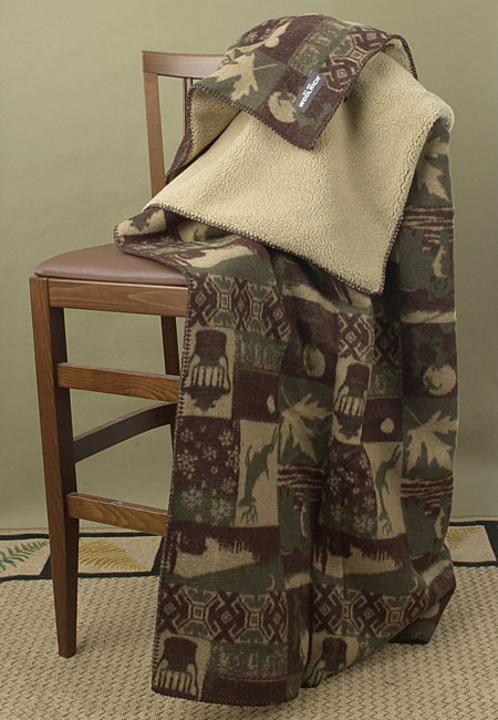 Woolrich Timber Mountain Throw