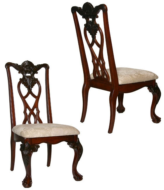 kathy ireland nottingham epic dining chairs set of 2 free shipping
