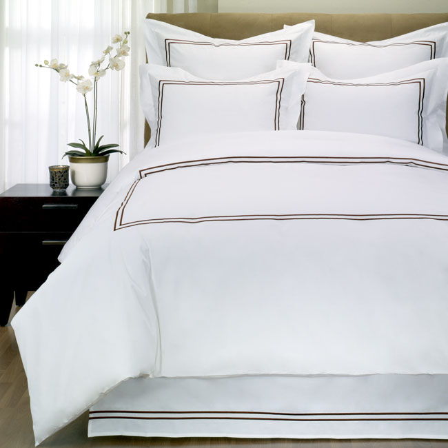 Hotel Collection Embroidered Duvet Cover Set (King)