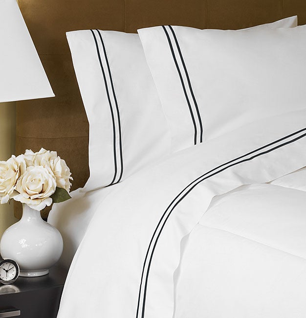 Hotel Collection Embroidered Sheet Set