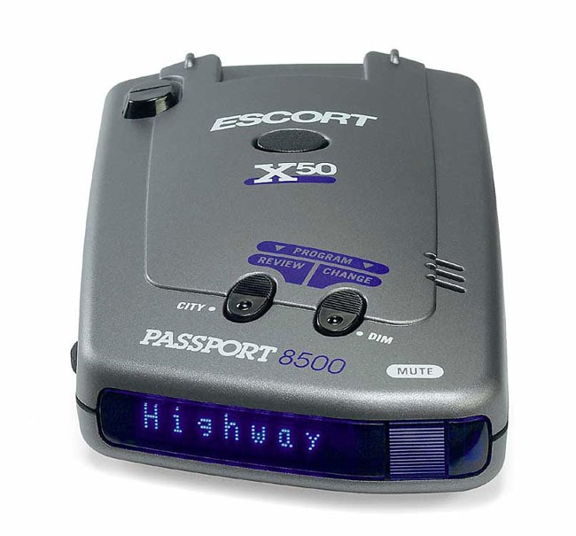 escort passport 8500 x50 blue radar detector free shipping today 10450033. Black Bedroom Furniture Sets. Home Design Ideas