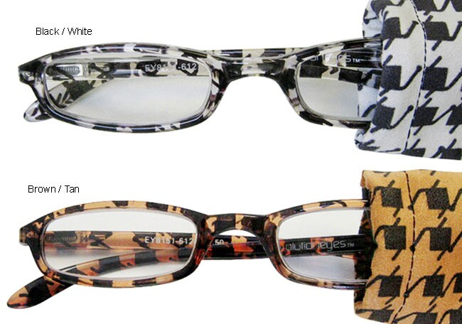 houndstooth reading glasses free shipping on orders