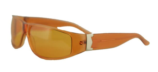 58d5e4bcae2 Shop Max Mara Plastic Orange Designer Sunglasses - Free Shipping On ...