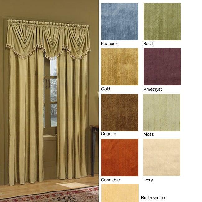Dynasty Silk Window Curtain 6-yard Scarf Valance