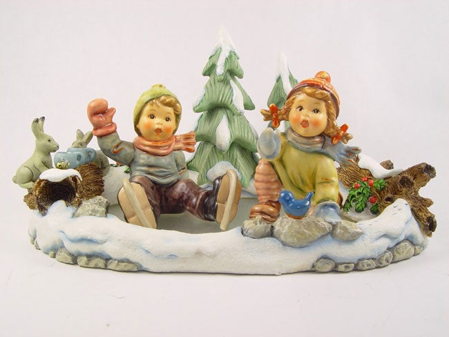 "Hummel ""Icy Adventure"" Figurine Set (3 pc.)"