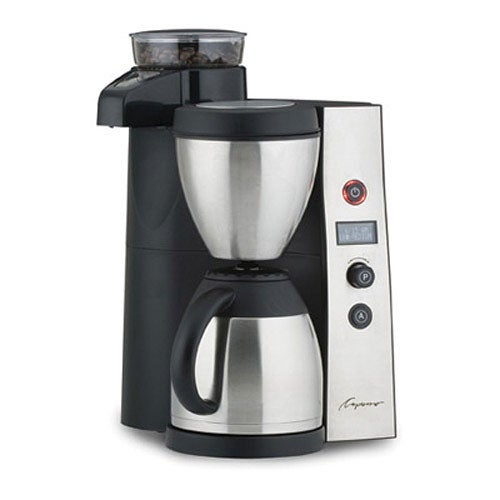 Capresso Coffee Maker Instructions : Capresso CoffeeTEAM Therm 455 Coffee Maker - Free Shipping Today - Overstock.com - 10455802