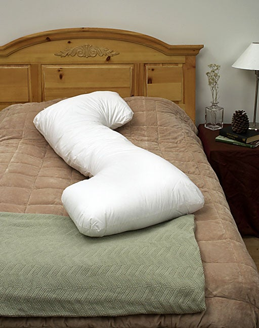ZZZZ Shaped Body Pillow