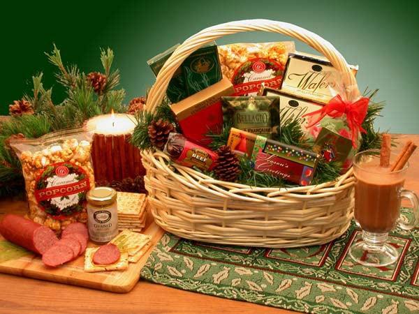 The Spirit of Christmas Holiday Gift Basket