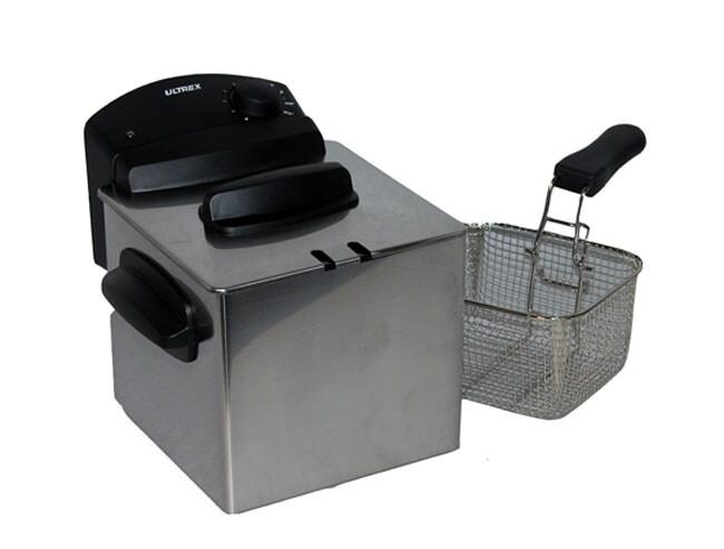 Ultrex 2 Liter Stainless Steel Flash Fryer Free Shipping