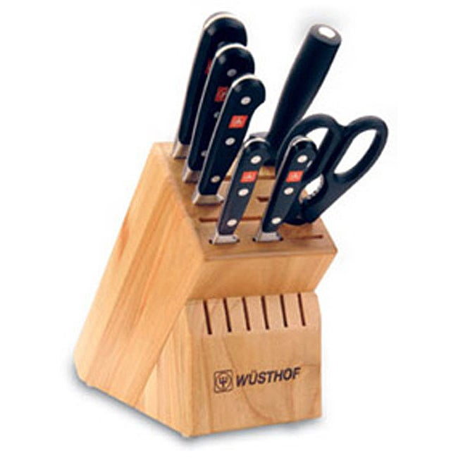 Wusthof Classic 8-piece Knife Block Set