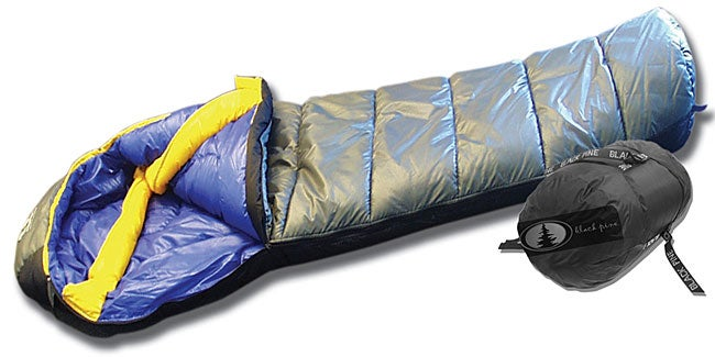 Black Pine +20-degree Mummy Sleeping Bag