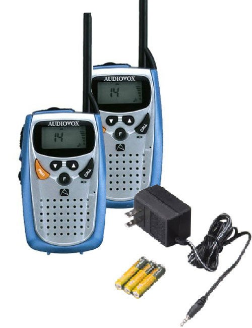 audiovox 2 way radio manual