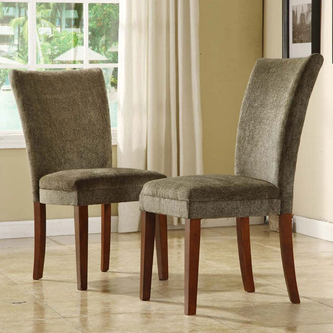 Fabric Parson Dining Chairs (Set of 2)