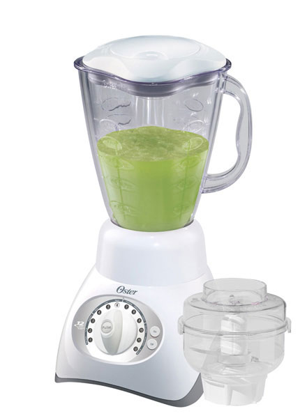 how to use oster blender food processor