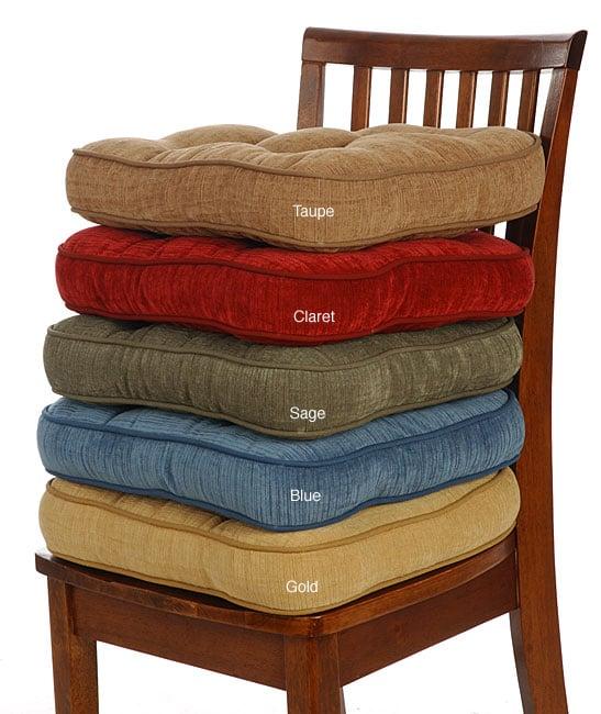 Antique Velvet Non Slip Chairpads Set Of 4 Free