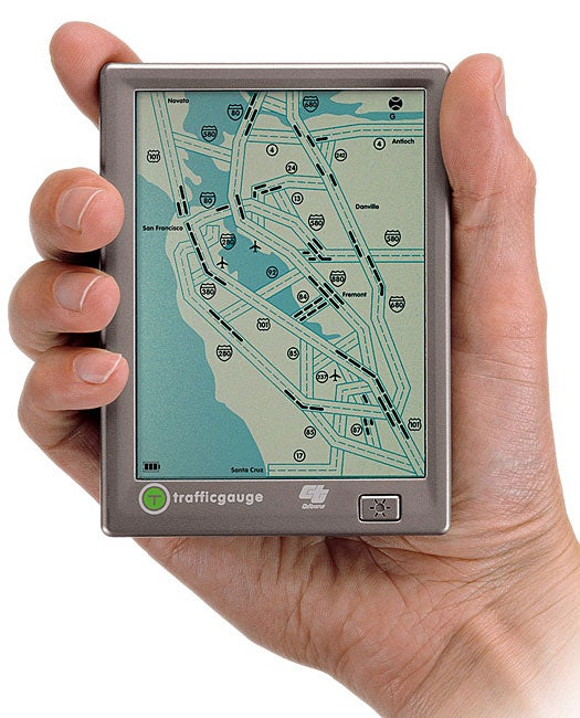 Shop Trafficgauge San Francisco Bay Area Traffic Map Free Shipping