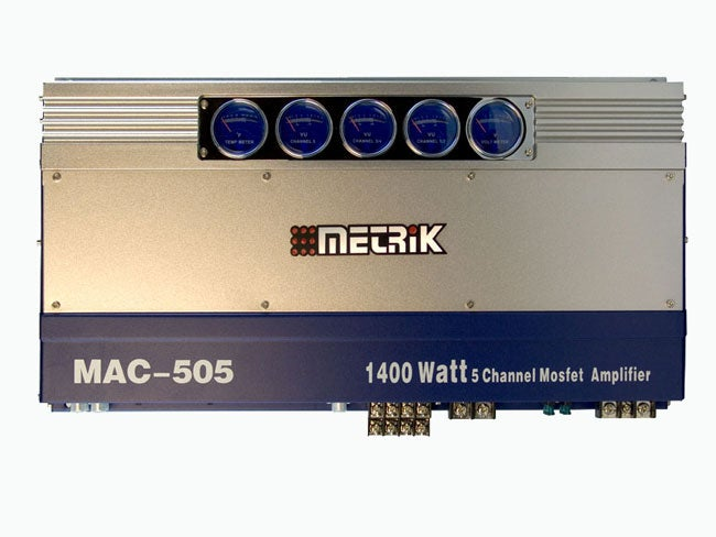 Metrik Mac 505 1400 Watt 5 Ch Mosfet Amplifier
