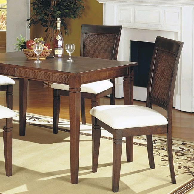 Cane Back Dining Chairs (Set of 2)