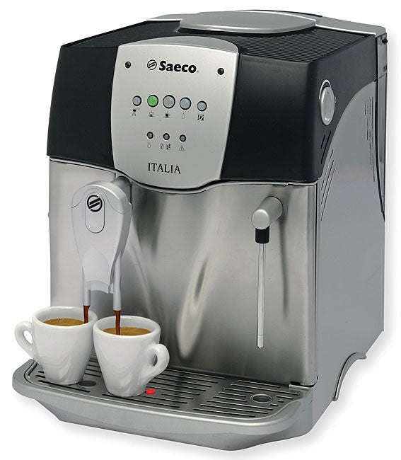 saeco italia espresso machine refurbished free shipping today 10505201. Black Bedroom Furniture Sets. Home Design Ideas