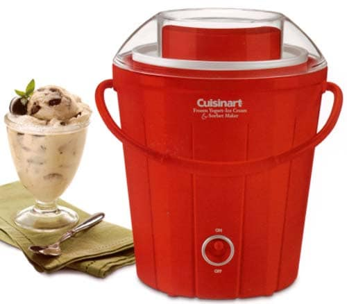 Cuisinart Bucket Style Ice Cream and Sorbet Maker