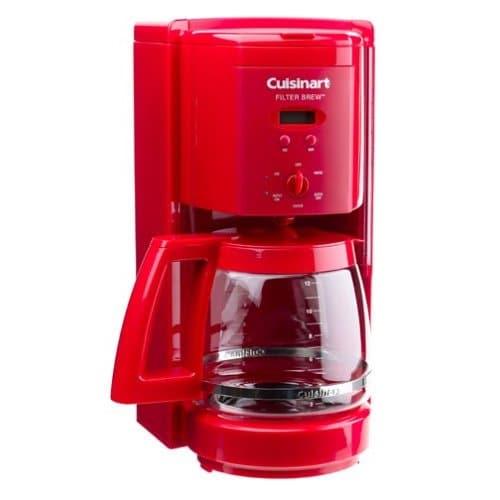 Cuisinart 12 Cup Programmable Red Coffeemaker