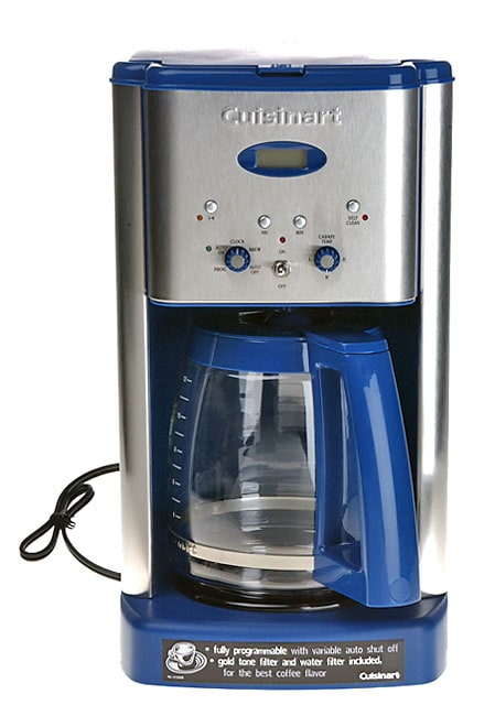 Cuisinart Brew Central Blue 12-cup Coffee Maker - Free Shipping Today - Overstock.com - 10509426